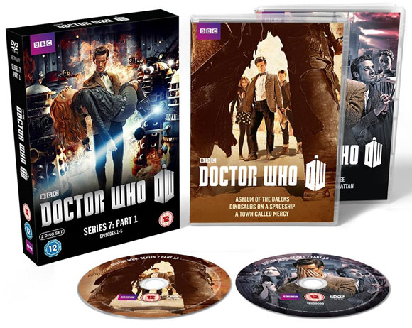 Doctor Who: Series 7a – Part 1 DVD Std Release