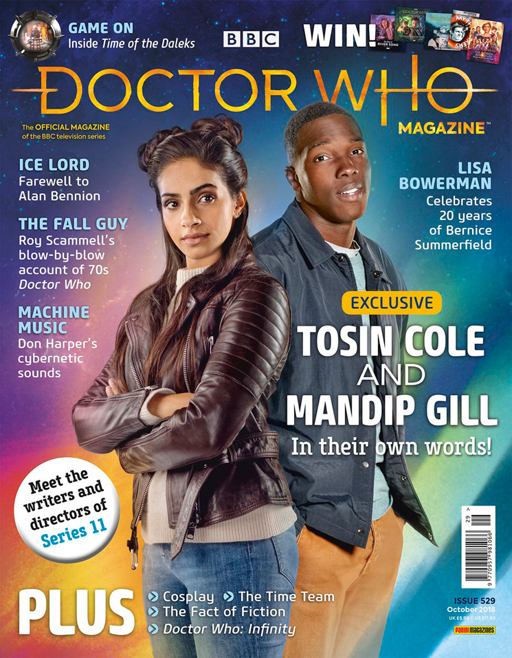 Doctor Who magzine 2018 Dwm-5291