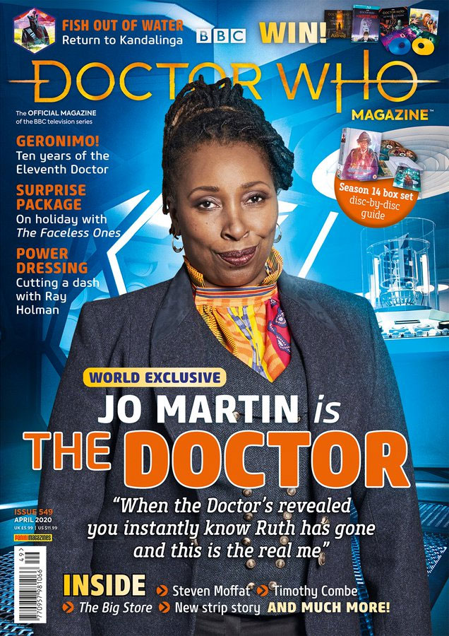 Doctor Who Magazine Issue 549 Merchandise Guide The Doctor Who