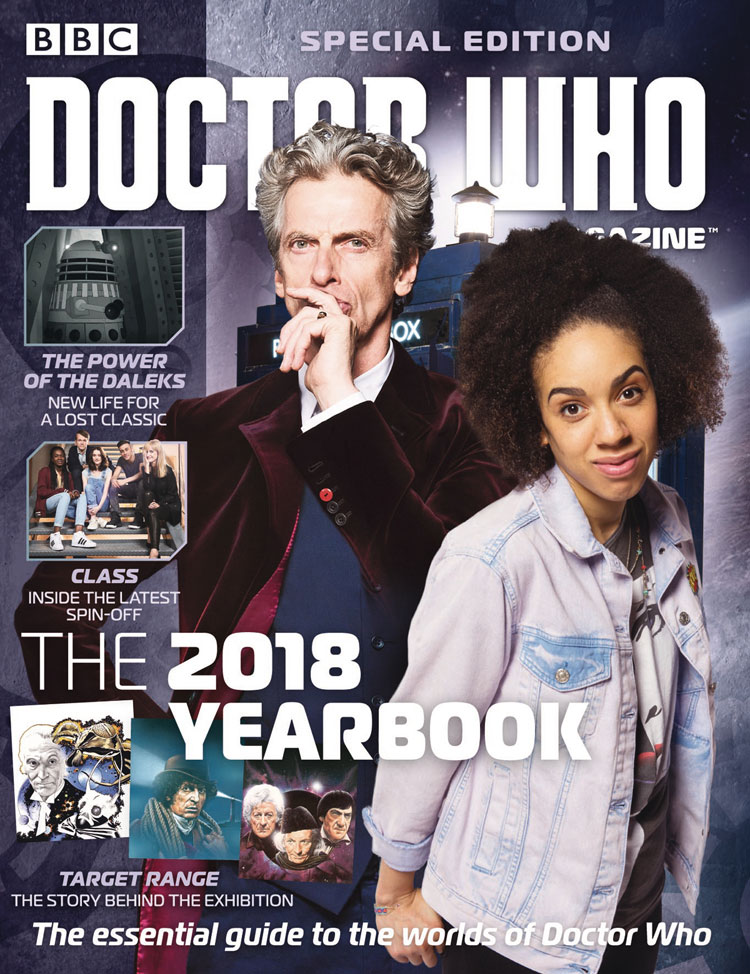 Doctor Who Magazine Special #48 2018 Yearbook – Merchandise Guide ...