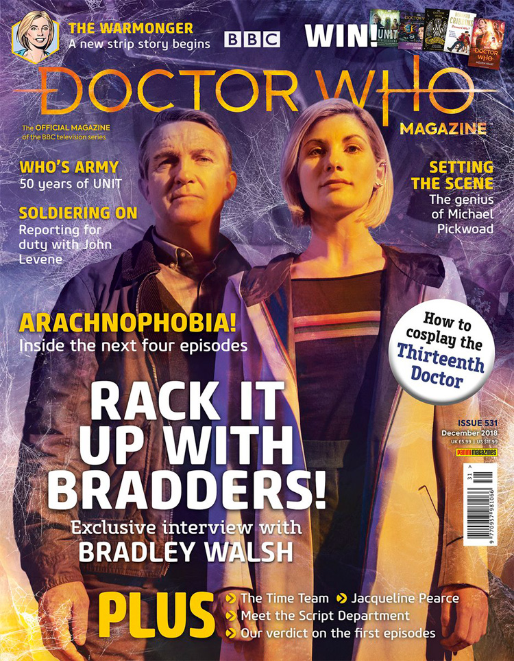 Doctor Who magzine 2018 Dwm531