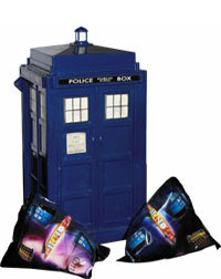 Doctor who tardis toys and merchandise feature the doctor who site - Tardis piggy bank ...