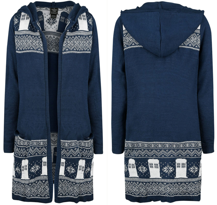 Doctor Who Official 13th Doctor Fairisle Cardigan – Merchandise ... 4ea0904846af3