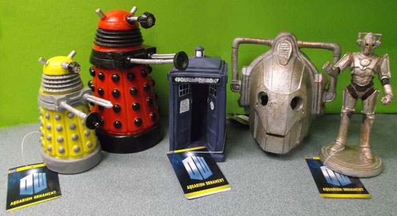 New Doctor Who Aquatic Decor – Updated – Merchandise Guide - The ...