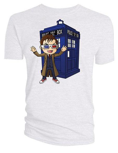 Doctor Who T Shirt Kawaii 10th Doctor Amp Tardis