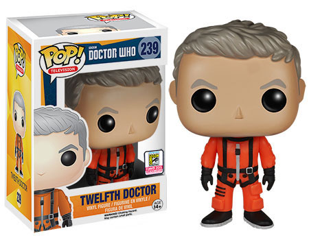 Doctor Who Funko Pop Sdcc Exclusive Figure Merchandise
