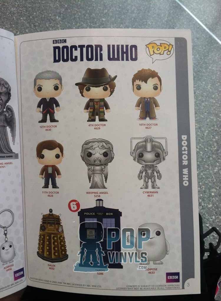 First Look At Doctor Who Funko S Merchandise Guide The