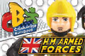 H.M. Armed Forces Character Building Toys