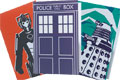 Doctor Who Retro Style Stationery Range