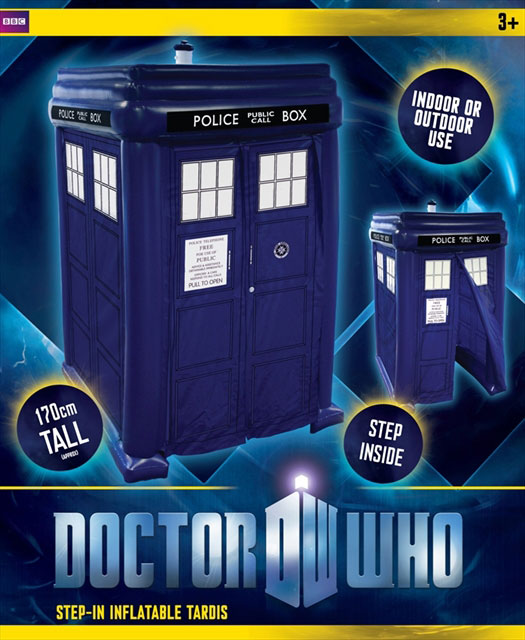 Categorised ...  sc 1 st  Doctor Who Toys and Merchandise - The Doctor Who Site & Doctor Who Step In Inflatable Tardis u2013 Merchandise Guide - The ...