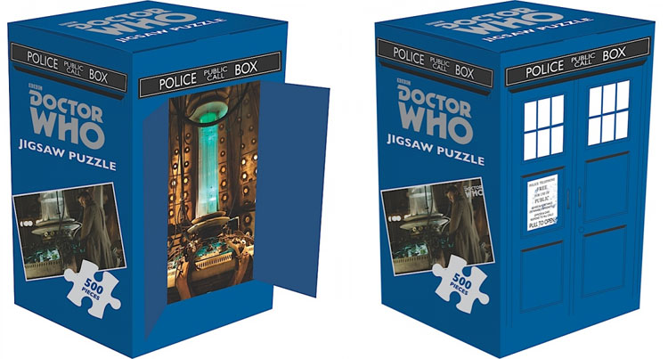 Doctor Who – Jigsaw Puzzle 500 pieces 10th Doctor – Merchandise