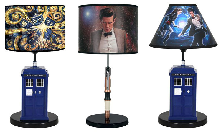 Doctor who rabbit tanaka tardis console lamp merchandise guide other doctor who desk lamps available from amazon mozeypictures Gallery