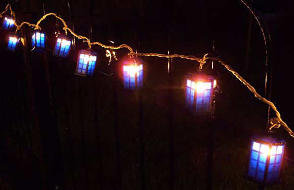Rewind – Doctor Who Tardis String Lights – Merchandise Guide - The ...