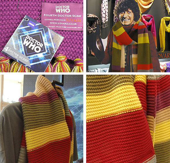 4th Doctor Official Replica Scarf Back In Stock Merchandise