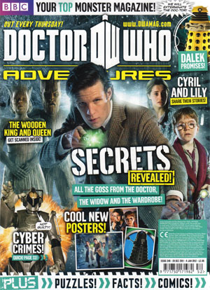 Doctor Who Adventures Issue 249