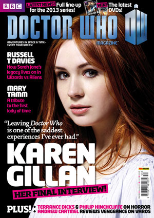 Doctor Who Magazine Issue 453 Merchandise Guide The