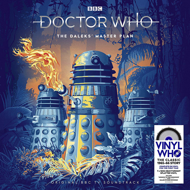 The Daleks' Master Plan Exclusive Edition Vinyl LP