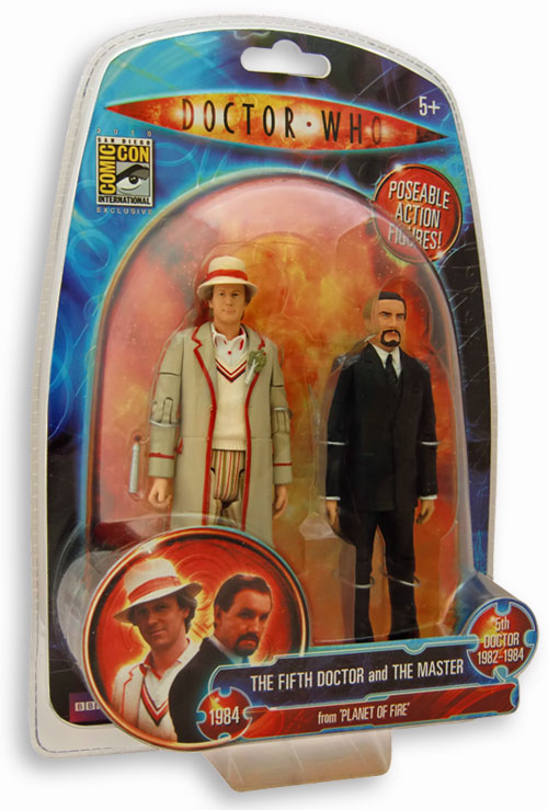 Fifth doctor and master pictures merchandise guide - Toy planet lanzarote ...
