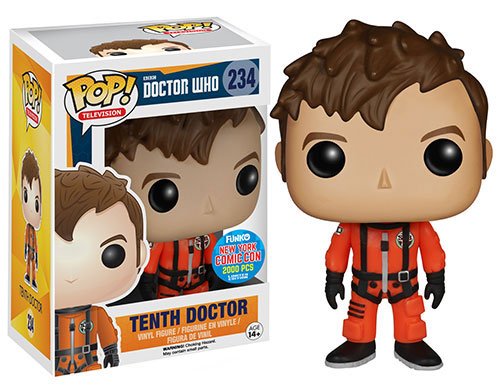 Doctor Who Funko Pop 10th Doctor In Spacesuit