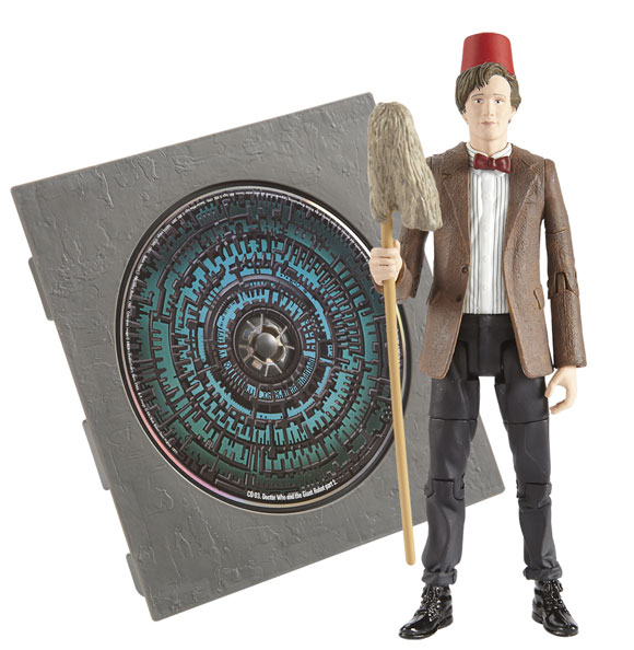 Doctor Who Roman Auton with Audio Book CD Action Figure