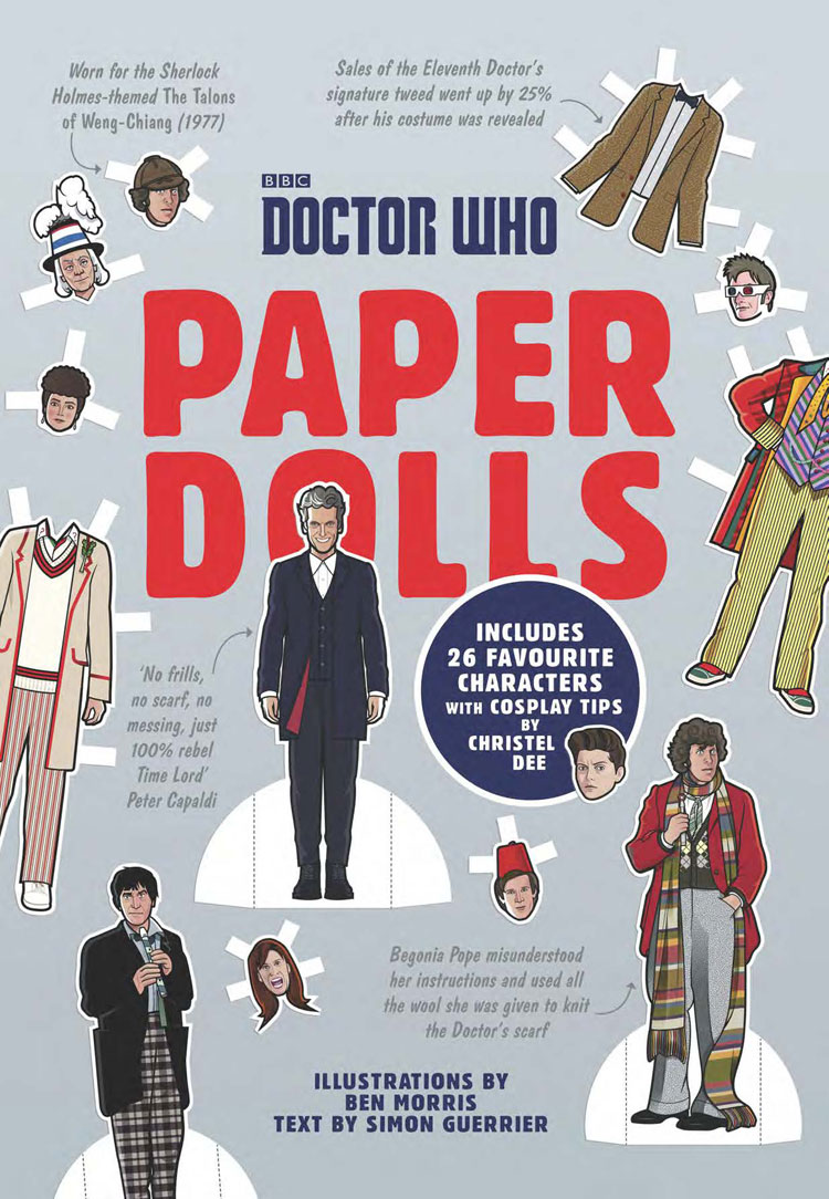 It's just a photo of Inventive Doctor Who Paper