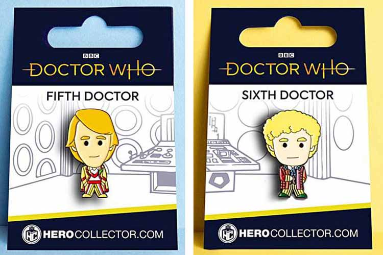 Hero Collector Doctor Who Pin Badge Collection – Merchandise