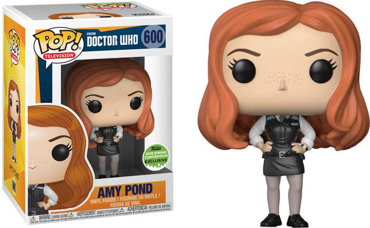 Doctor Who Funko Pop Eccc 2018 Amy Pond Merchandise