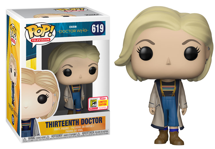 Doctor Who 13th Doctor Funko Pop Merchandise Guide The