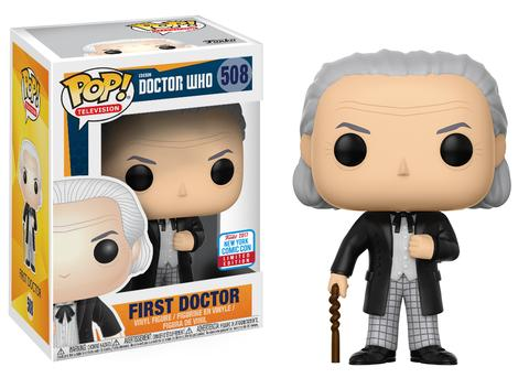 Funko Pop Nycc 2017 First Doctor Merchandise Guide