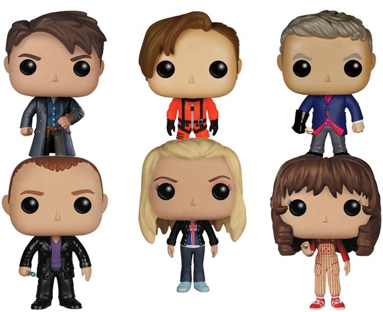 Doctor Who Pop Vinyl 6 Figure Mega Bundle Bargain