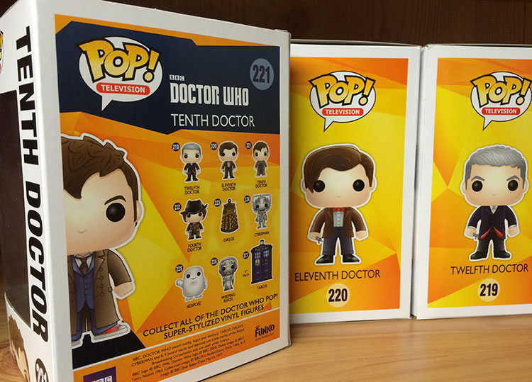 Doctor Who Pop Funko Figures A Closer Look Merchandise