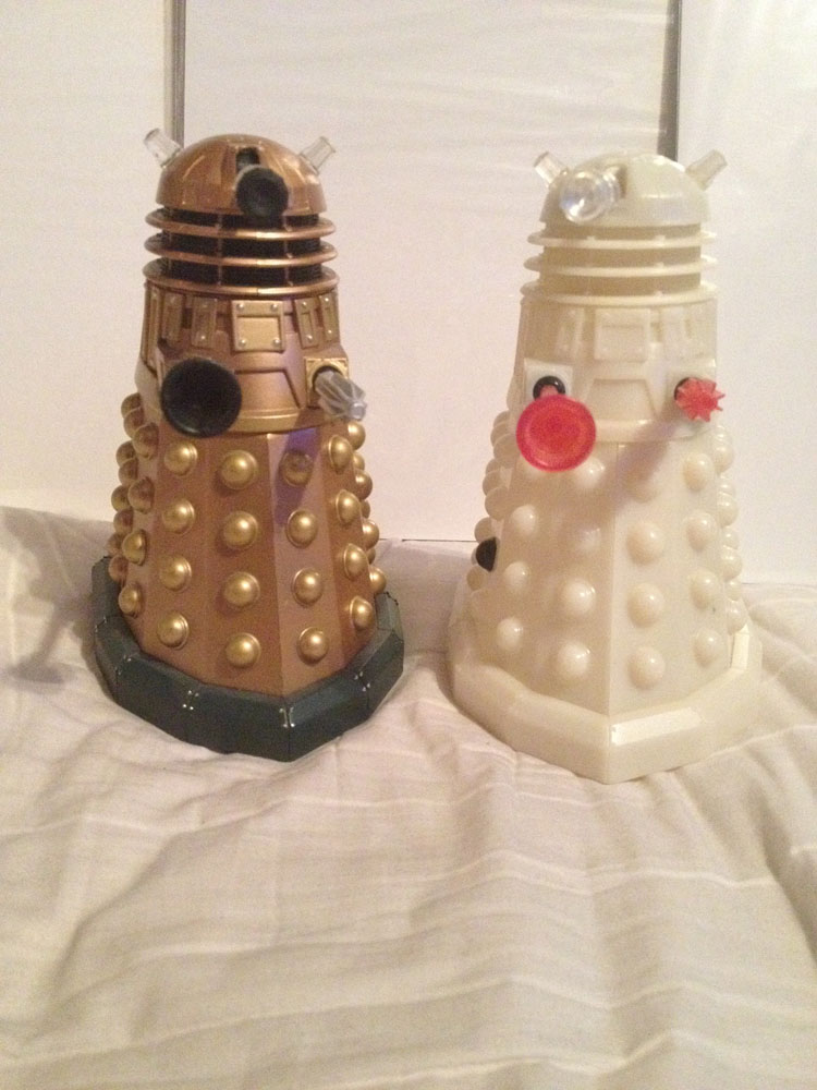 Prototype Dalek Collection Merchandise Guide The Doctor Who Site