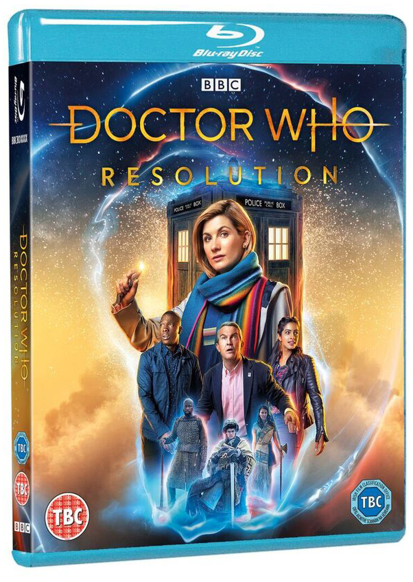 Doctor Who New Year's Day Special – Resolution Blu-ray – Merchandise