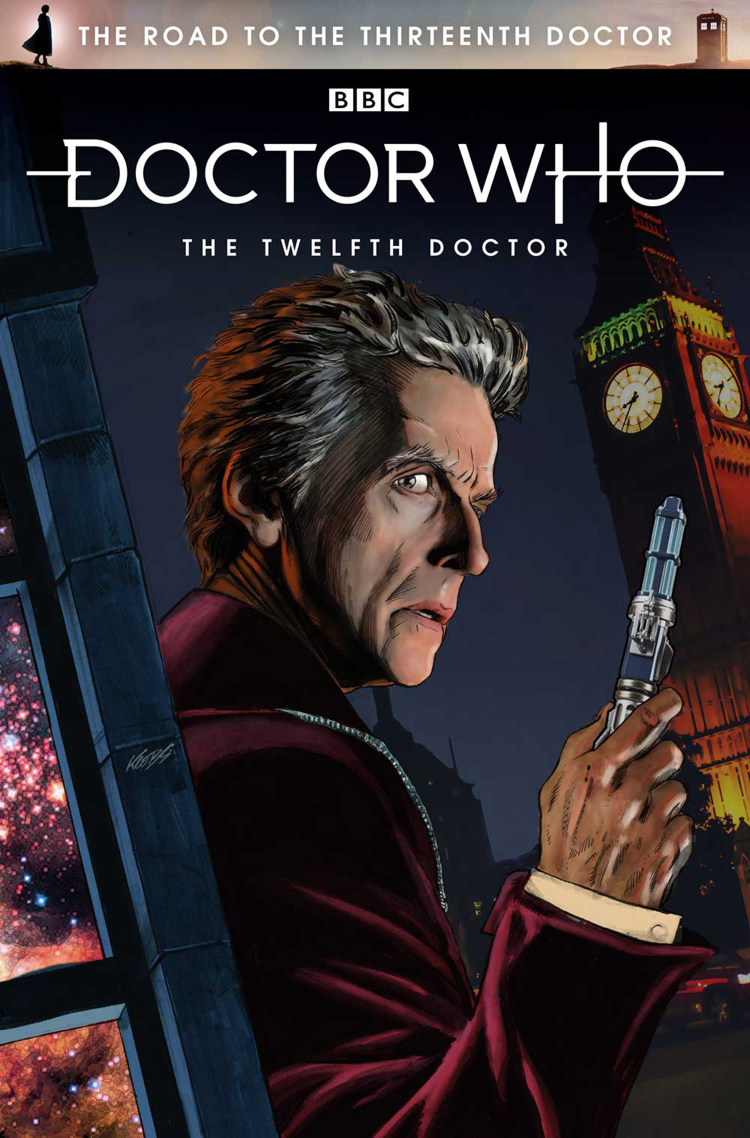 Titan Comics 12th Doctor The Road To The 13th Doctor Merchandise