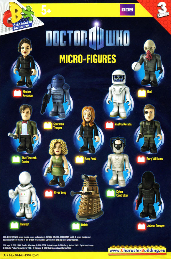 Custom Dr Who Keyrings *All Series Available* Character Building