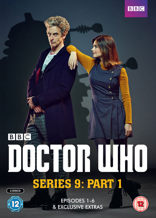 Doctor who series 9 part 1 dvd pre order merchandise guide the