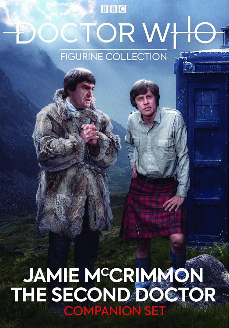 2nd Doctor Who /& Jamie Companion Set Eaglemoss Figurine Special Edition