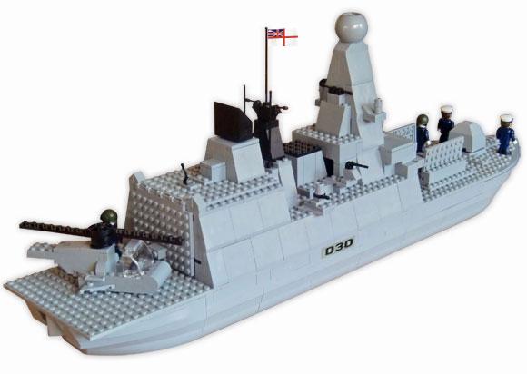 lego navy ship instructions