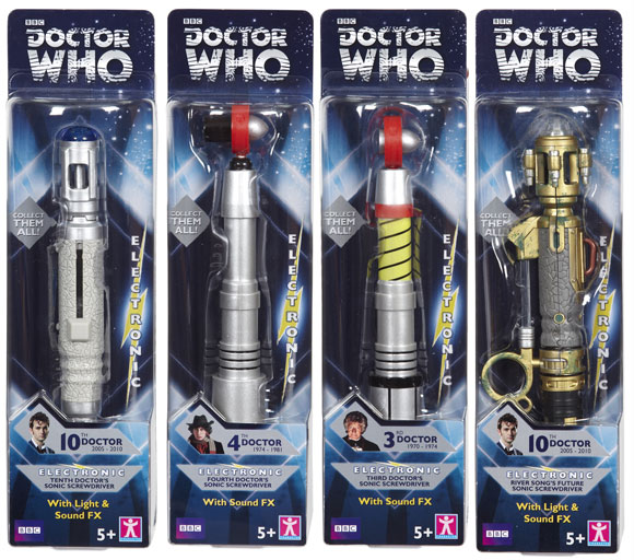 Doctor Who Eighth 8th Doctor/'s Sonic Screwdriver toy Wave 2
