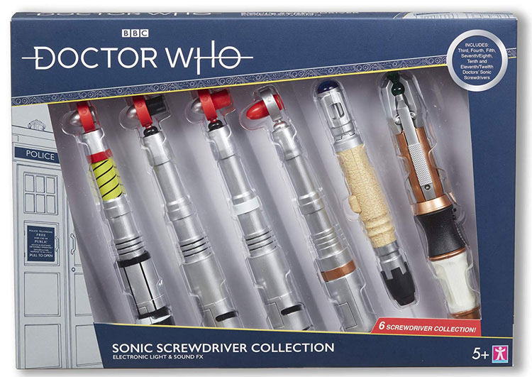 Doctor Who 8th Dr Who Sonic Screwdriver Electronic Light /& Sound Toy
