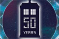 Doctor Who 50th Anniversary Vinyl  Stickers
