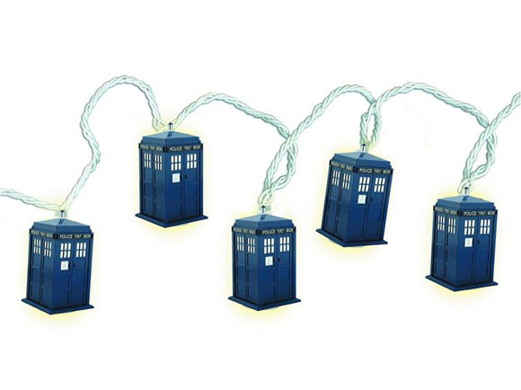 String Lights House Doctor : Rewind Doctor Who Tardis String Lights Merchandise Guide - The Doctor Who Site