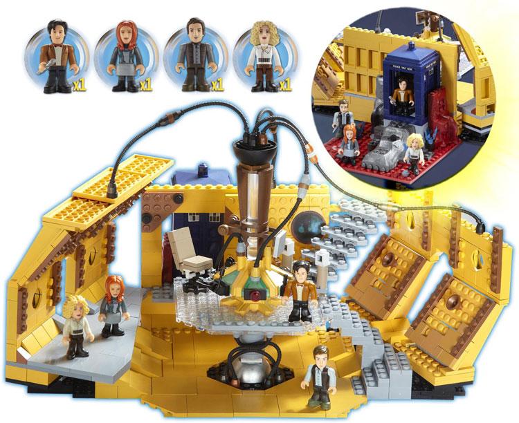 Character Building Tardis Console Set Merchandise Guide