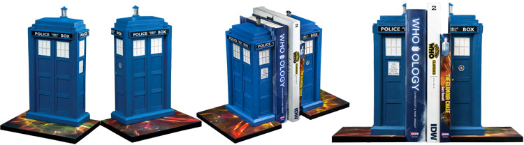 tardis-bookends