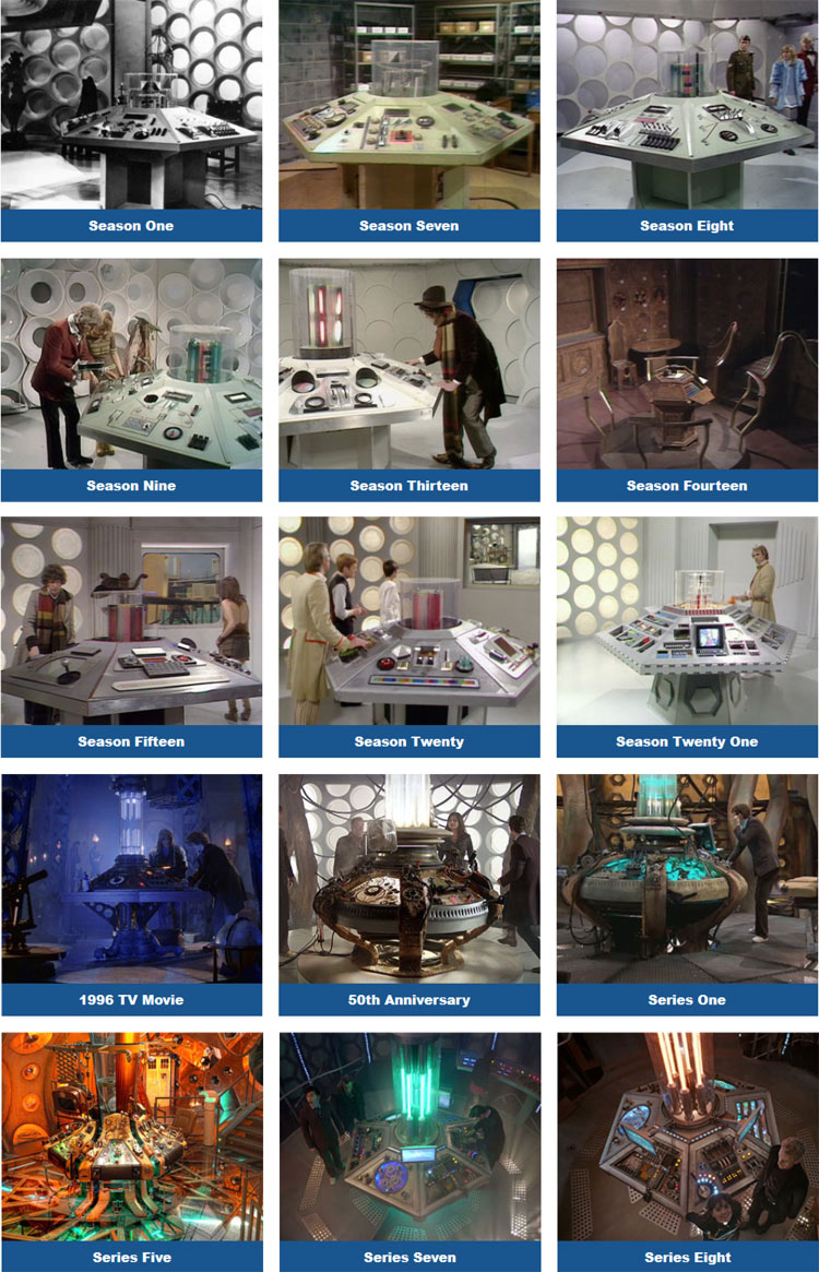 Eaglemoss Tardis Console Collection The Possibilities