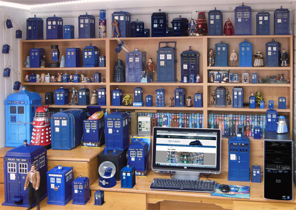 Doctor Who TARDIS toys and Merchandise feature