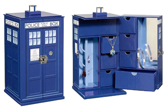 Doctor Who TARDIS Jewelry Box – Merchandise Guide - The ...