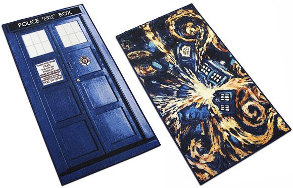 Doctor Who Regular Exploding Tardis Rugs Usa