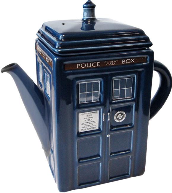 Doctor Who – Ceramic Tardis Teapot – Merchandise Guide - The ...