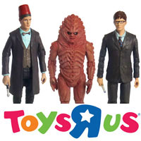 """Doctor Who 3.75/"""" Action Figure Set #1 /'/'Children of the Revolution/'/'"""